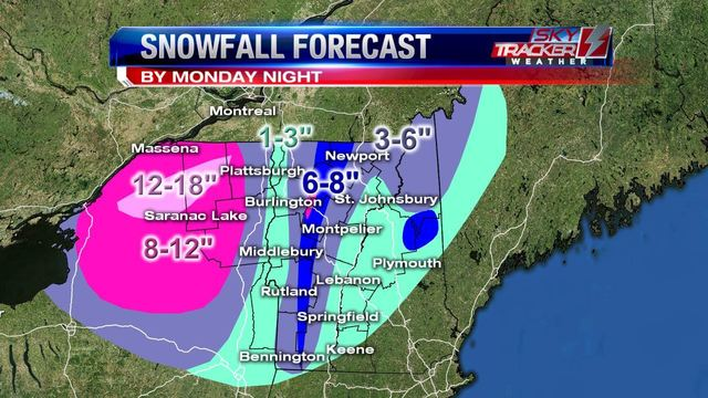 Weather: First Blast of Winter Enroute, Winter Storm Warnings Issued (11/19/16)