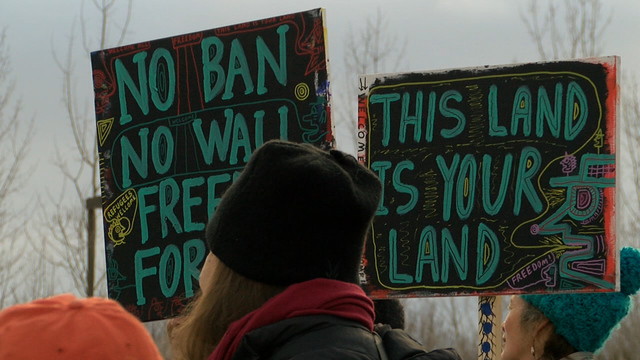 Two Arrested After Vermont/Canadian Border Protest