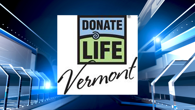 Vermont:  April is Donate Life Month