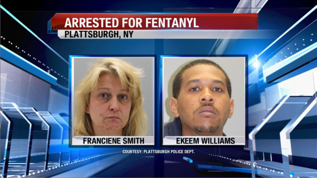 Plattsburgh Police: Two Arrested for 170 bags of Fentanyl