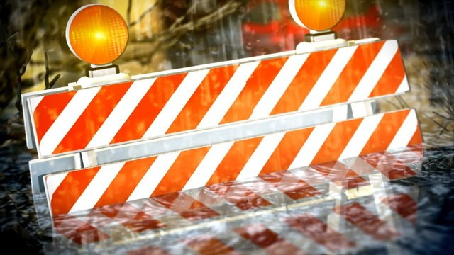 Floods Cause Road Closures in Rutland