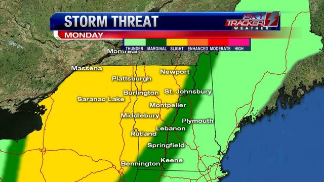 Severe storm threat for Metro Detroit for Wednesday