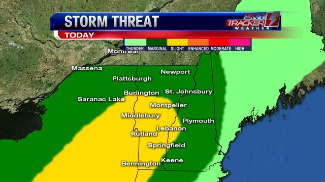 Severe weather ahead: Strong thunderstorms expected today, tomorrow, and again on Friday