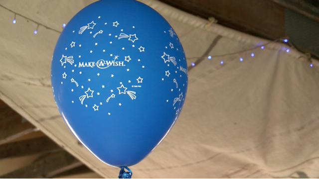 Surprise Annoucement for Jay Teen at Make-A-Wish Event