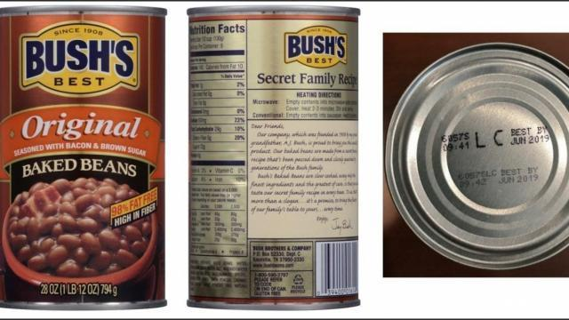 Bush Brothers & Company Recalls Certain Baked Beans