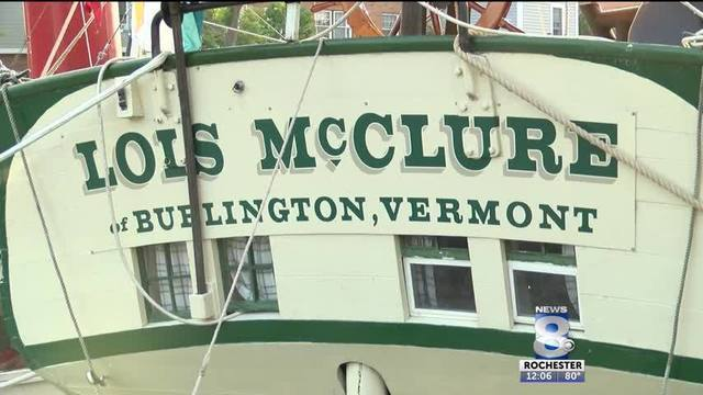Take a tour of 19th century schooner replica in Fairport, New York