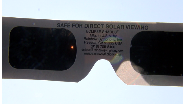 Solar Eclipse Viewing Safety