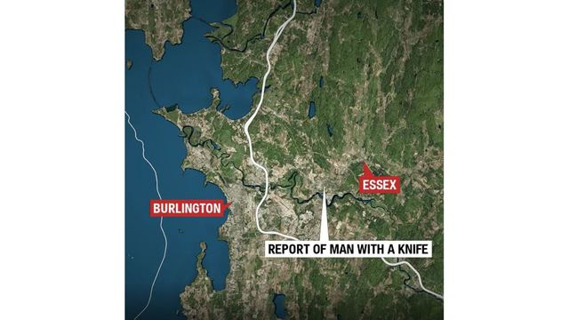 Man With Knife Eludes Police, Later Arrested