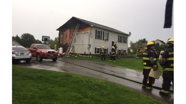 Lightning strike could be to blame for Grand Isle house fire