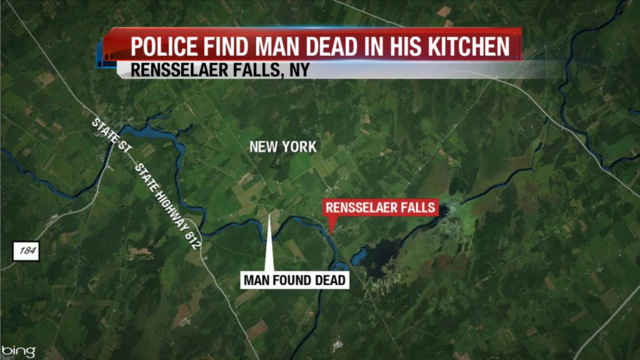 Police: Man Found Dead in His Kitchen