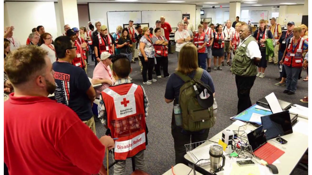 Red Cross Forced to Relocate Second Harvey Volunteer Training Due to Overwhelming Response