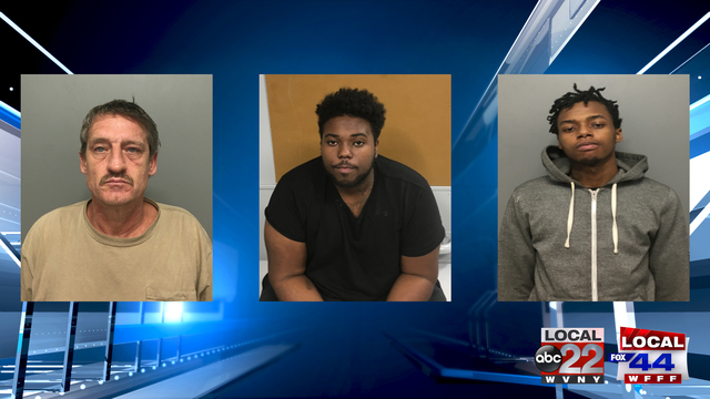 Burlington Police: Three Arrested on Drug Related Charges