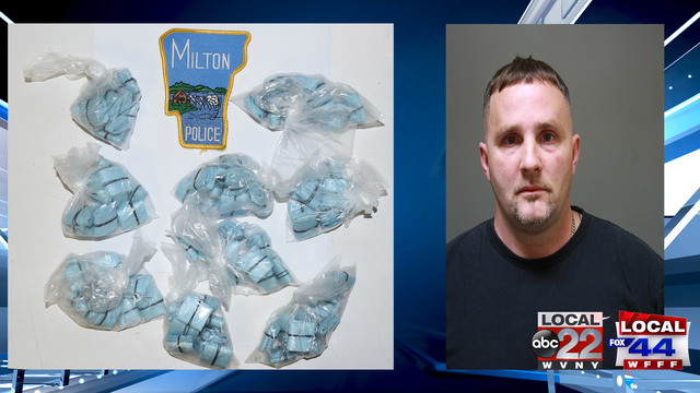 Milton Police Find 890 Bags of Suspected Heroin