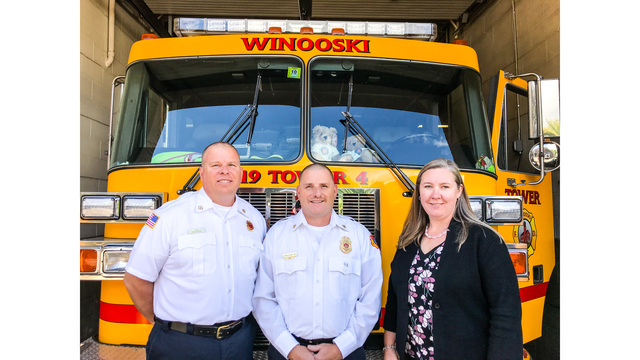 City of Winooski Announces its new Fire Department Chiefs