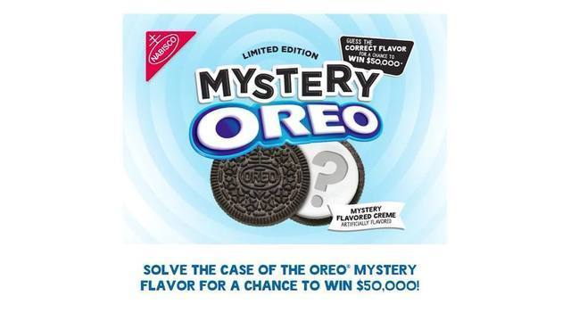 Oreo offering $50K prize to those who can guess mystery flavor