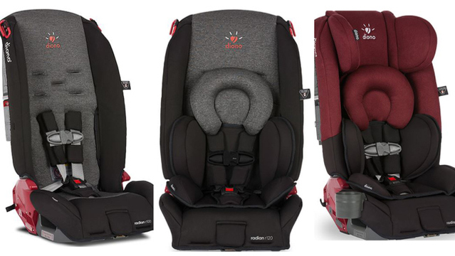Diono car Seats Recalled Because They may not Protect Kids in Crashes