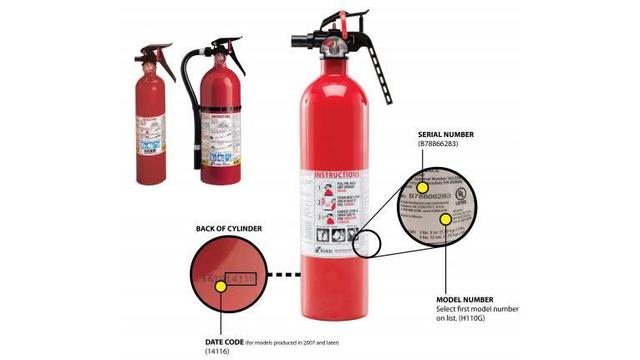 Nearly 40 million fire extinguishers recalled