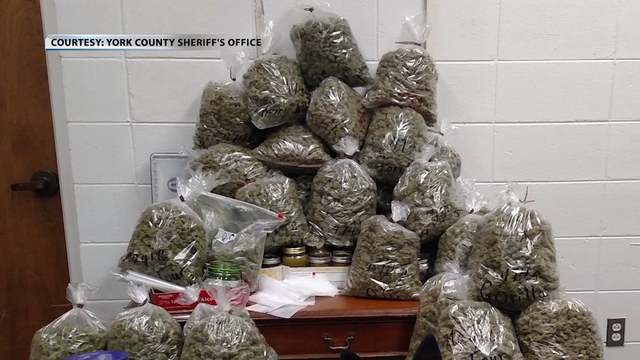 Elderly couple told cops 60 pounds of marijuana was for 'Christmas presents'