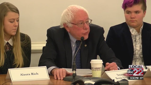 Bernie Sanders's son launches congressional bid in New Hampshire