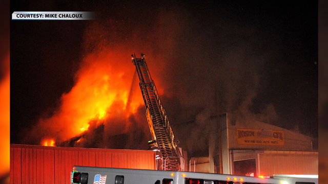 Several departments respond to Rutland fire