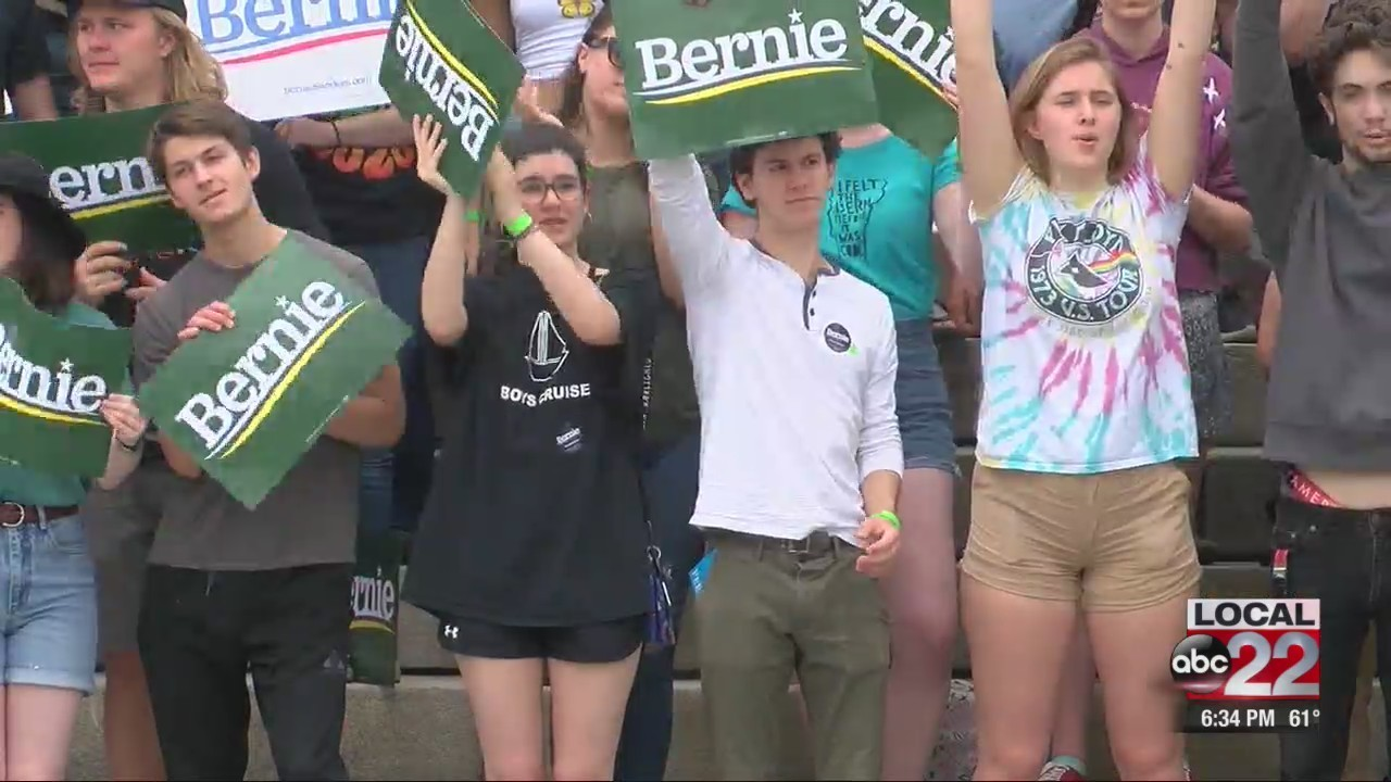 Sanders backers pleased with tone of unity in Montpelier speech