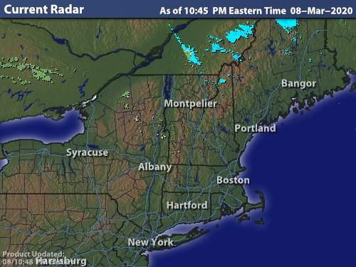 MyChamplain Radar Map