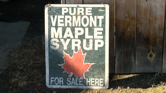 Long season helps make Vermont top maple syrup producer