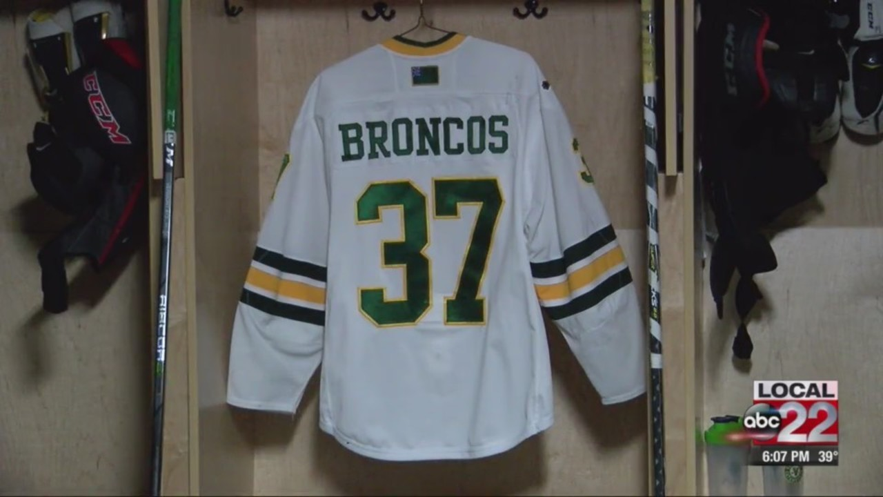 UVM Hockey jersey to honor Humboldt Broncos 768c1a3880d7