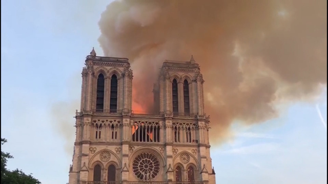 Fire at Notre Dame upends Vermont woman's Easter Sunday plans