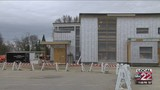 Shelburne's new library in final stages of construction