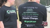 Scientist from NVU-Lyndon are raising awareness of climate change through running