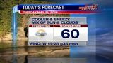 Weather: Cooler and breezy day ahead (5/21 AM)