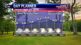 Weather: Mix of sun and showers through the weekend (5/24 AM)