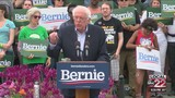 Bernie Sanders supporters fill State House lawn for campaign rally